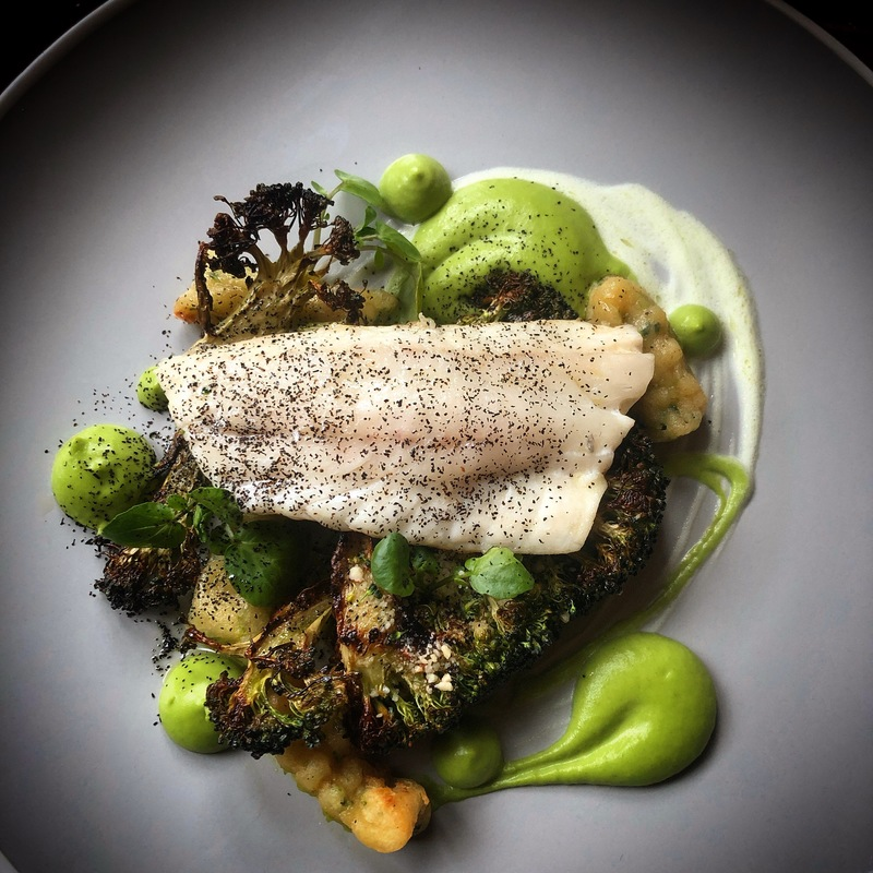 https://www.thestaffcanteen.com/public/js/tinymce/plugins/moxiemanager/data/files/00 Insta Top Ten March 2019/march /Sea Bass Poached In Buttermilk%2C Shaved Broccoli Herb Gnocchi%2C Burnt Leek Powder%2C Roasted Pureed Broccoli%2C Herb Yogurt by Charles Lee.jpeg