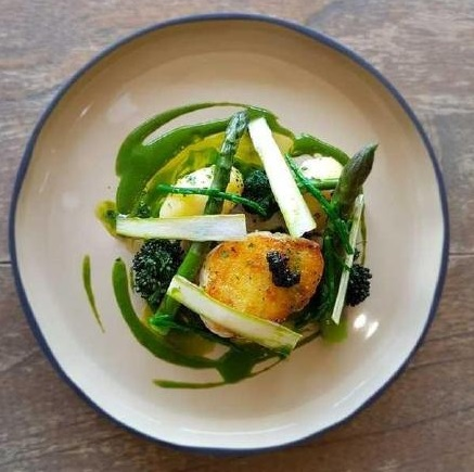 9 Cod loin%2C asparagus%2C jersey royal%2C herring roe by James Carn Proyor