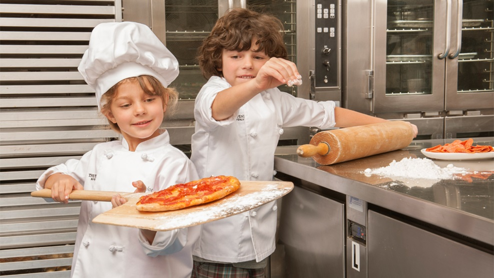 Kids in the Kitchen   Pizza Making