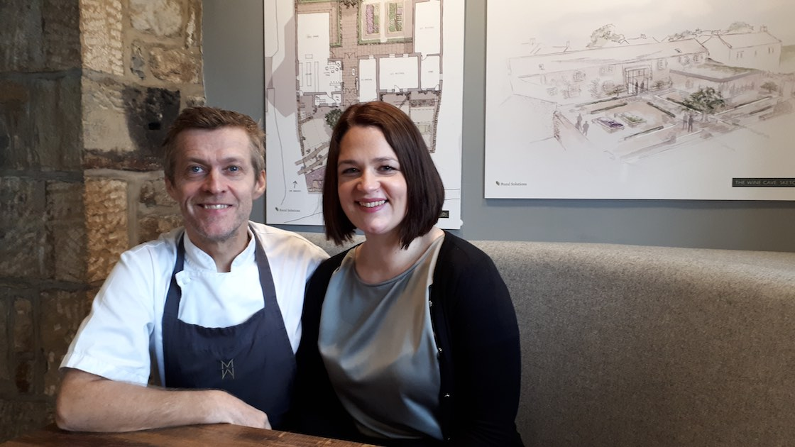 michael and wife johanna credit michelin guide