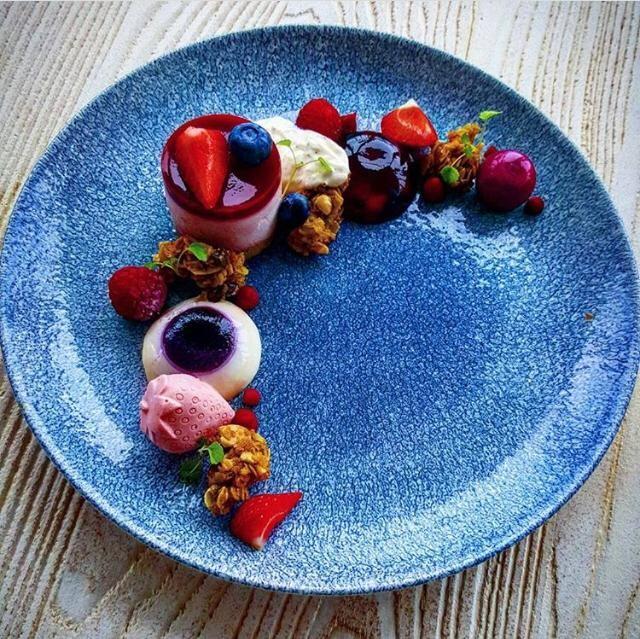 Summer berry Fantasy by chef Shauna O'Keeffe, Nautilus