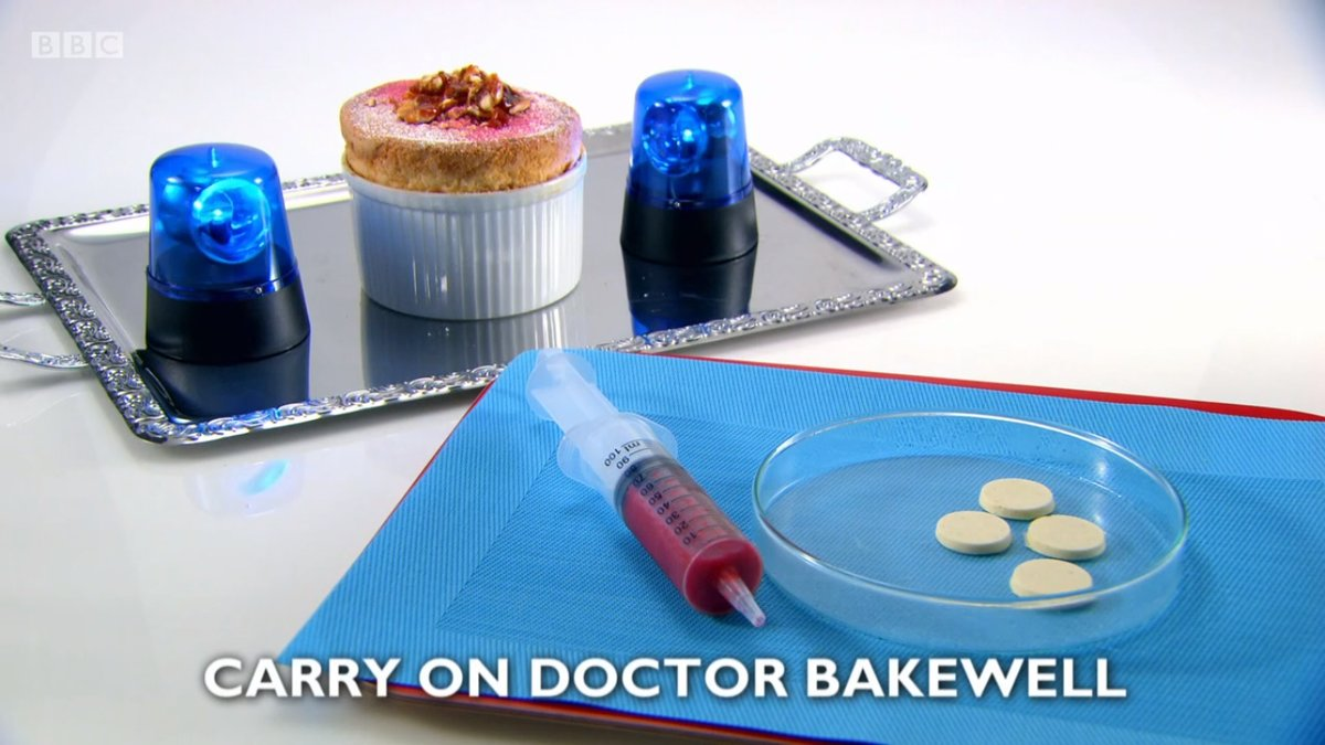 Carry On Doctor Bakewell - dessert course by Marianne Lumb, Great British Menu 2018 dessert course for the Central region heat