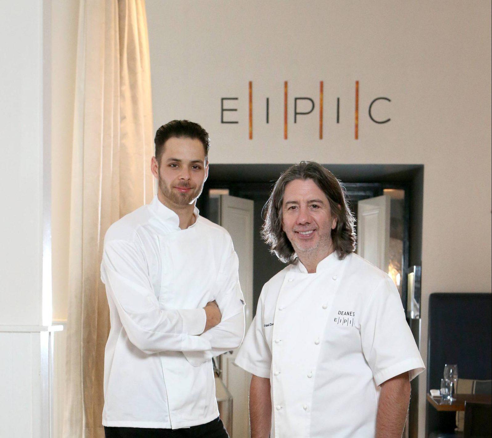 alex greene head chef and michael deane