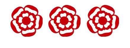 three rosette logo