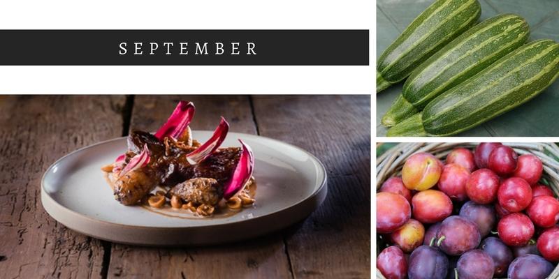 September seasonal food, whats in season in September, seasonal ingredients, Autumn foods