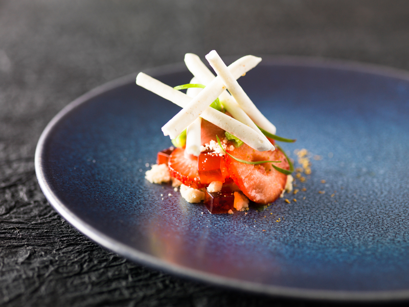 Richard Allen Chef's Strawberry dish low res
