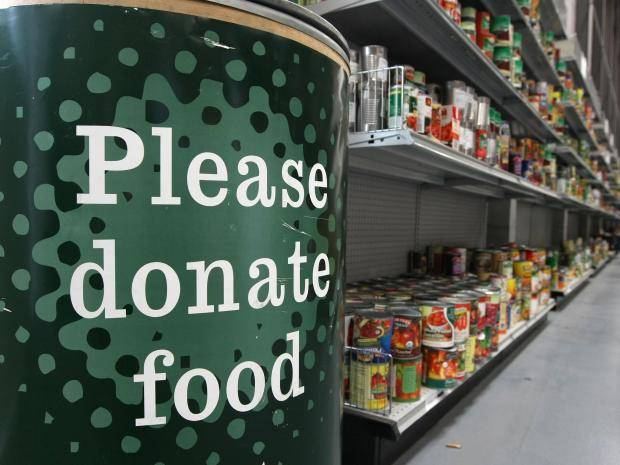 food bank credit the independent