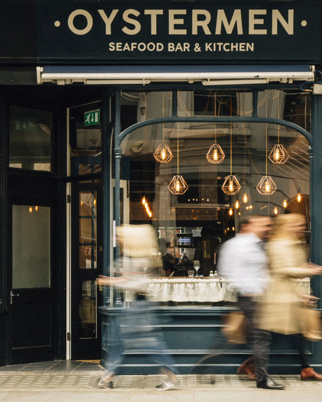 Photo (credit Greg Funnell %40gregfunnell)   The Oystermen Seafood Bar & Kitchen Covent Garden low res