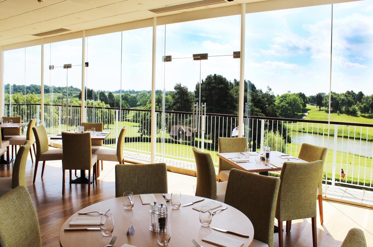 Lake Restaurant at Stoke by Nayland Hotel