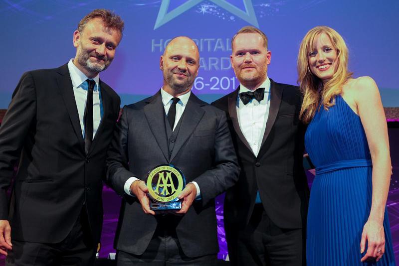 AA Chef of the Year 2016  Simon Rogan