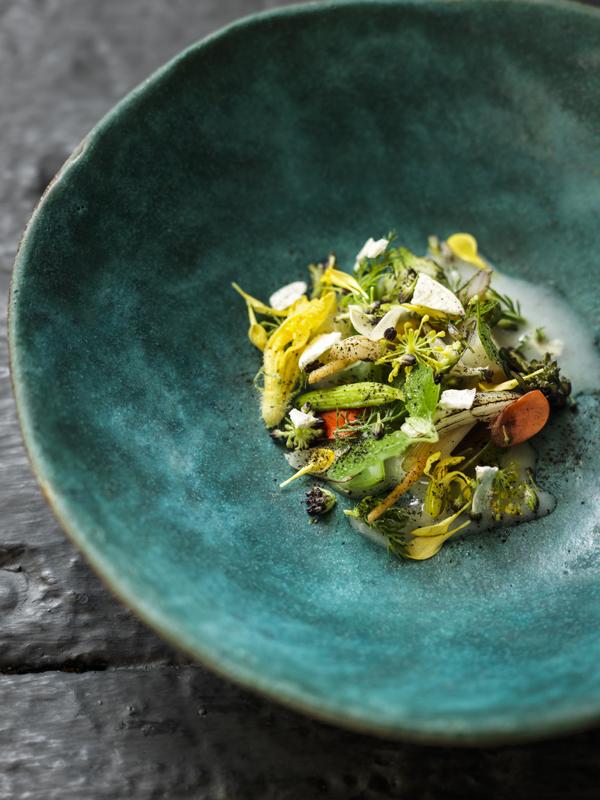 aynsome salad, L'Enclume