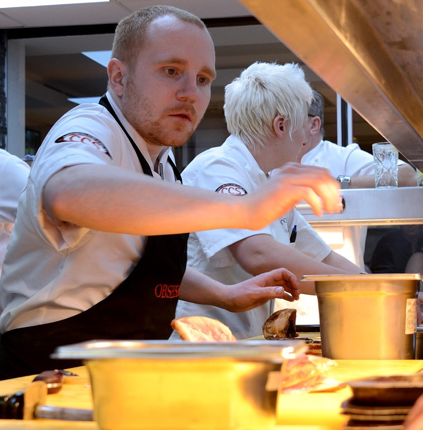 Danny Young, Young National Chef of the Year 2018, Obsession 18