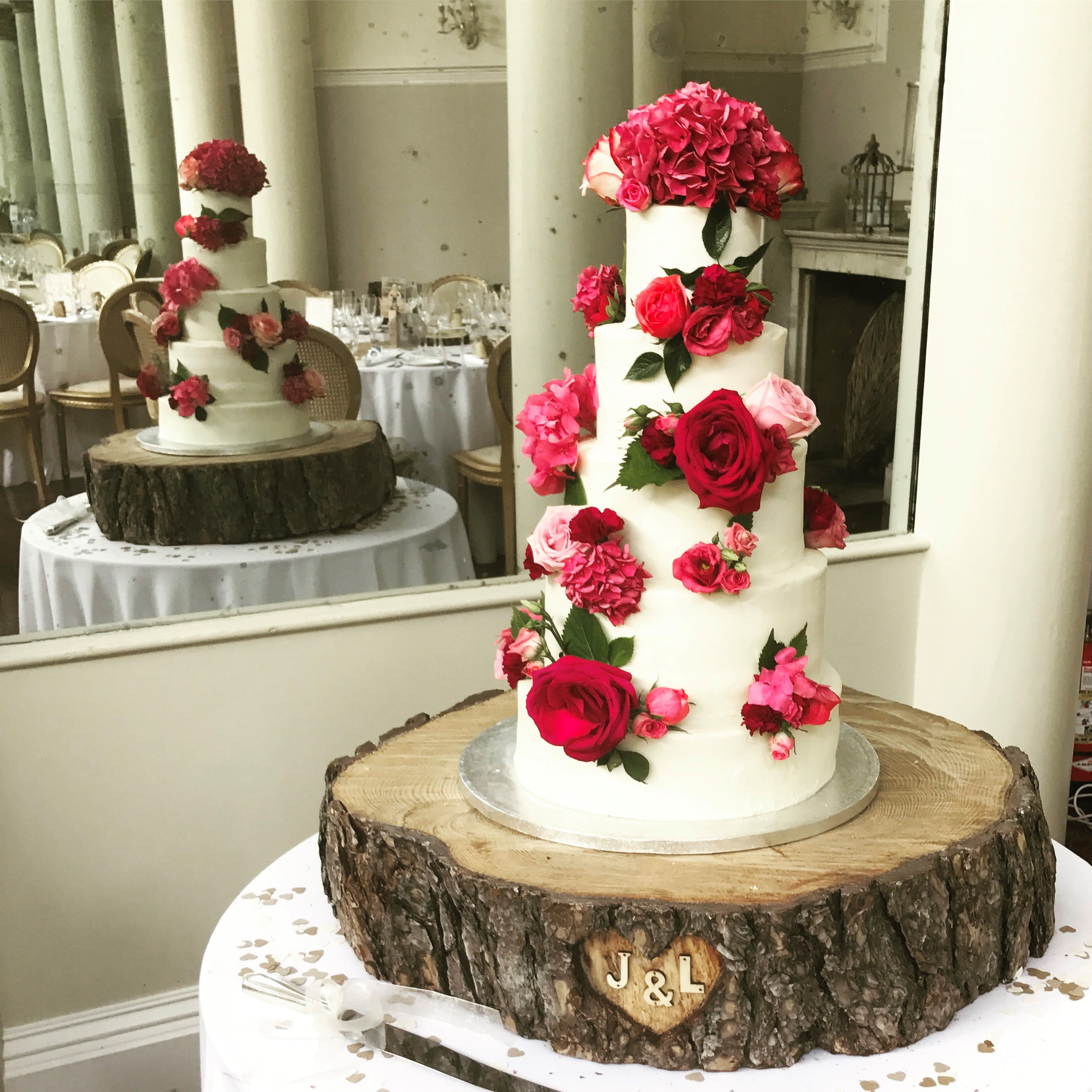 Ruth's sister's wedding cake