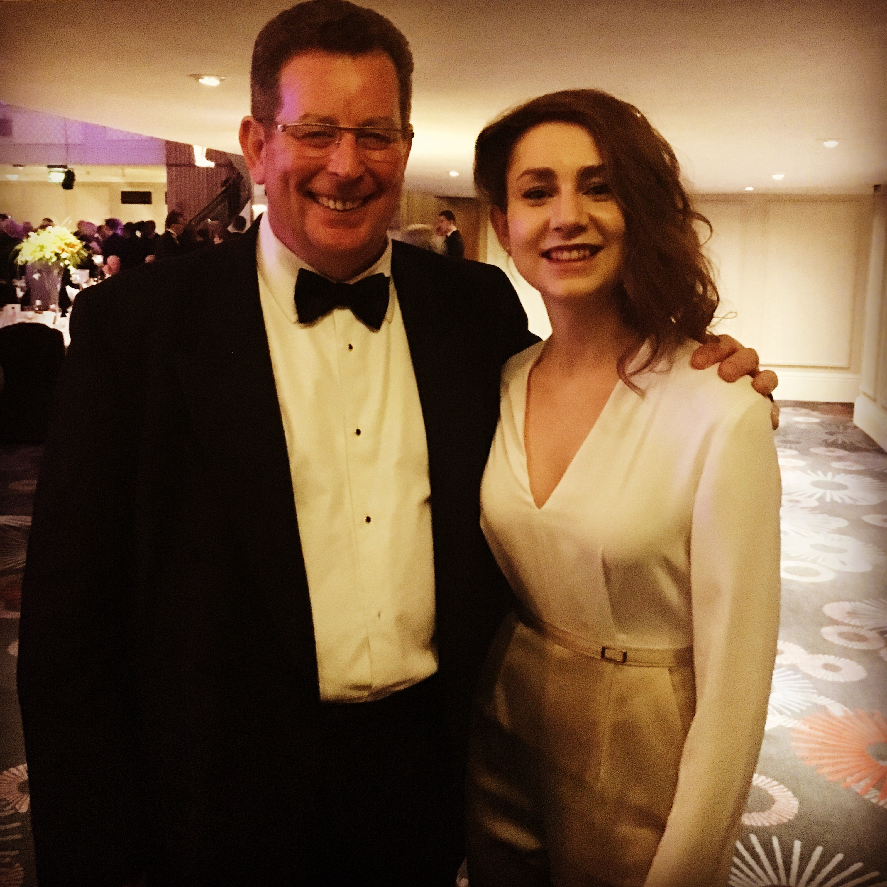 John Williams and Ruth Hansom