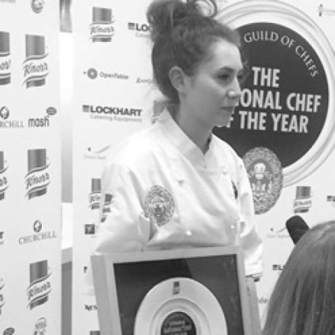 Ruth Hansom, Young National Chef of the Year 2017