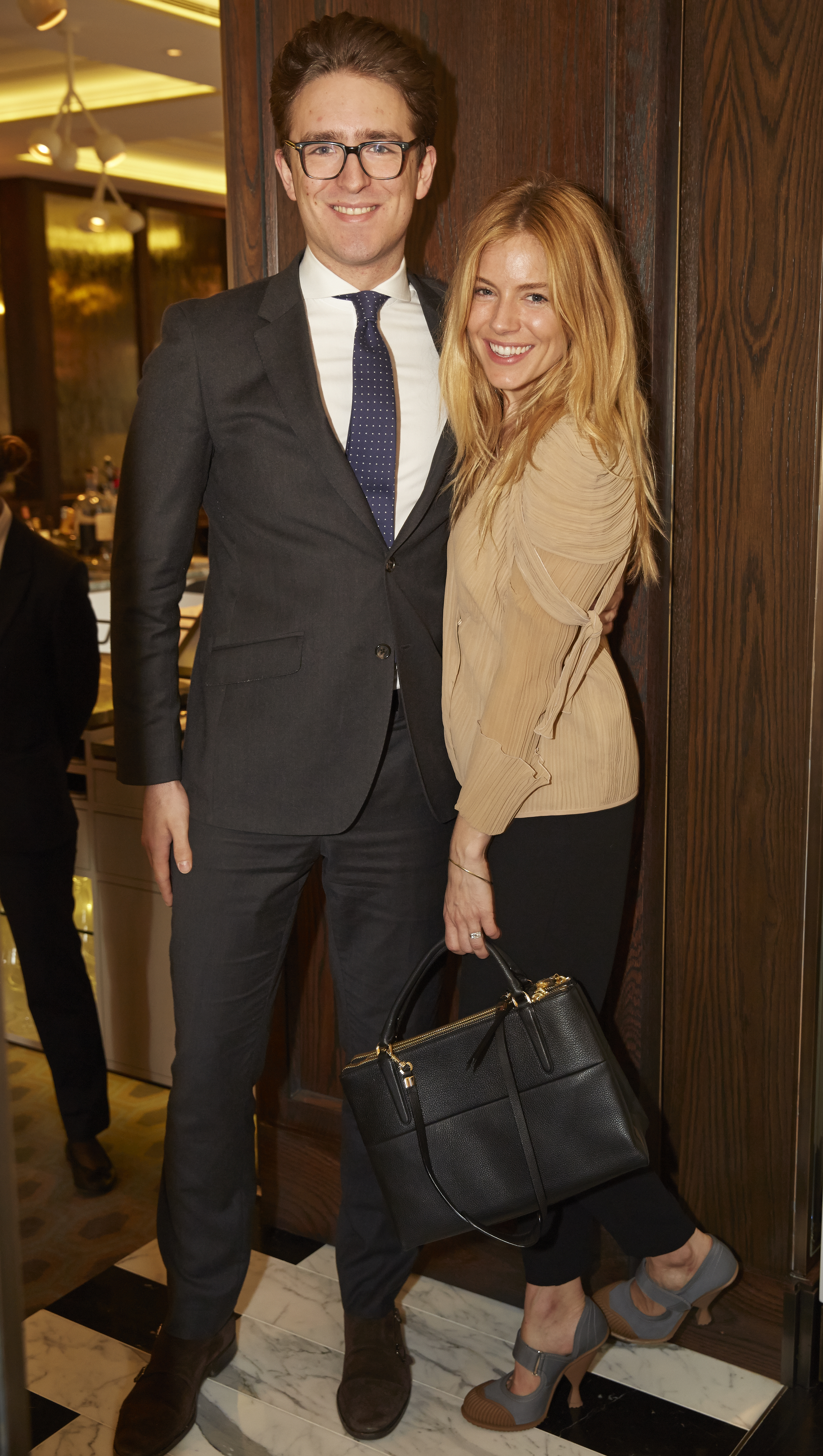 Daniel Greenock and Sienna Miller
