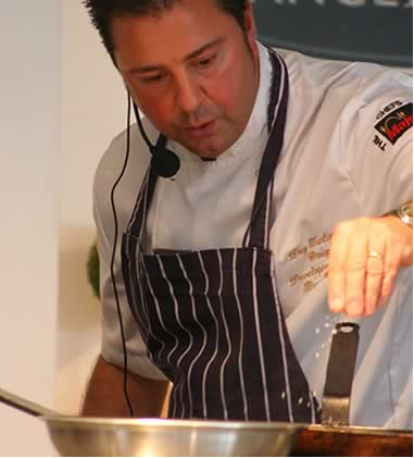 Dez Turland, development and PR chef, Brend Hotels