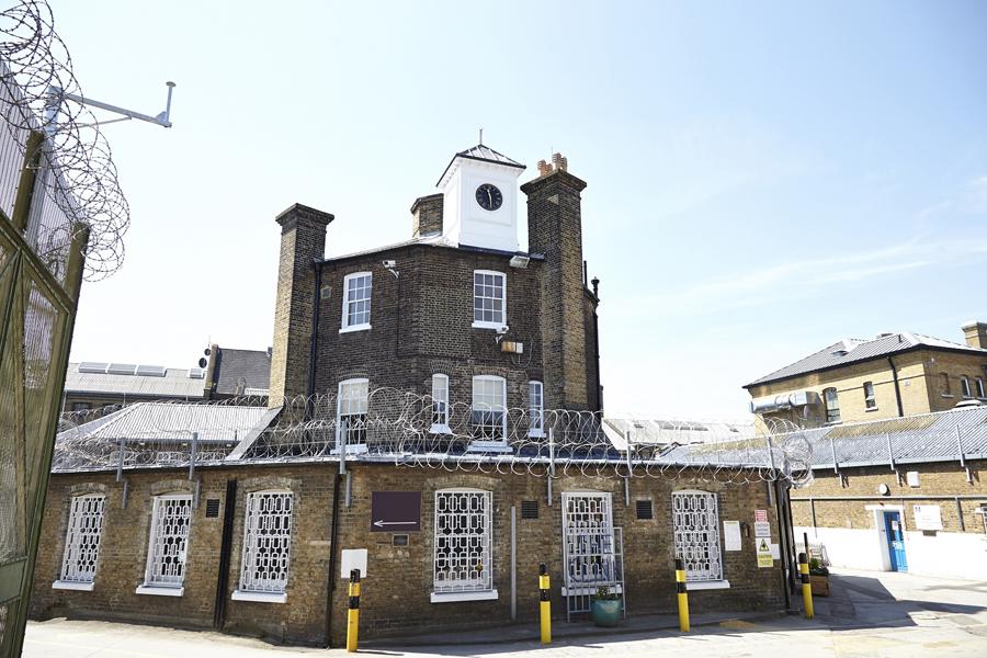 Exterior of The Clink Restaurant at HMP Brixton London