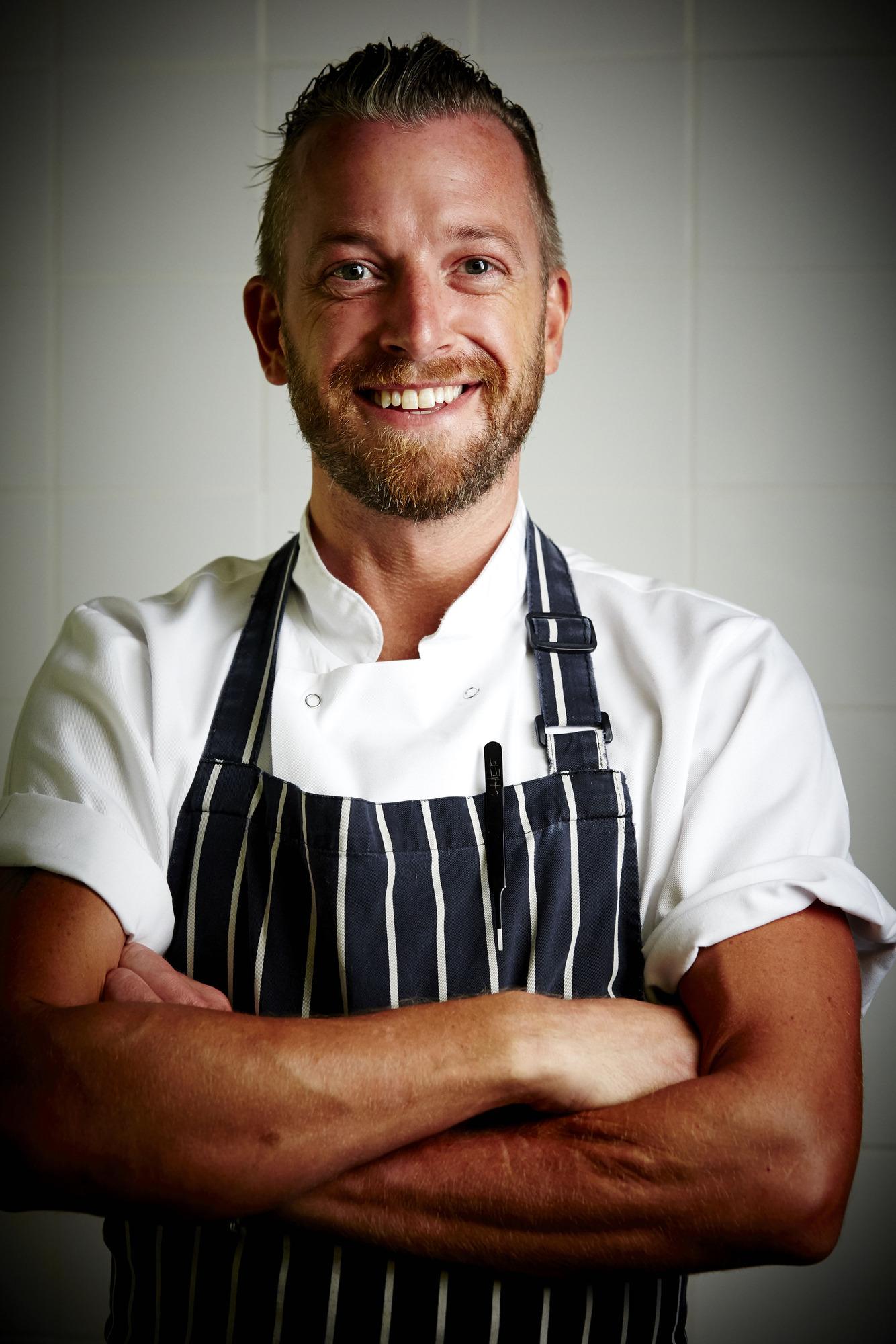 Nick Brodie, head chef, Llangoed Hall, Great British Menu 2017