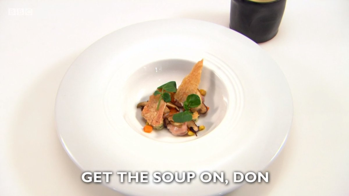 Get the soup on Don
