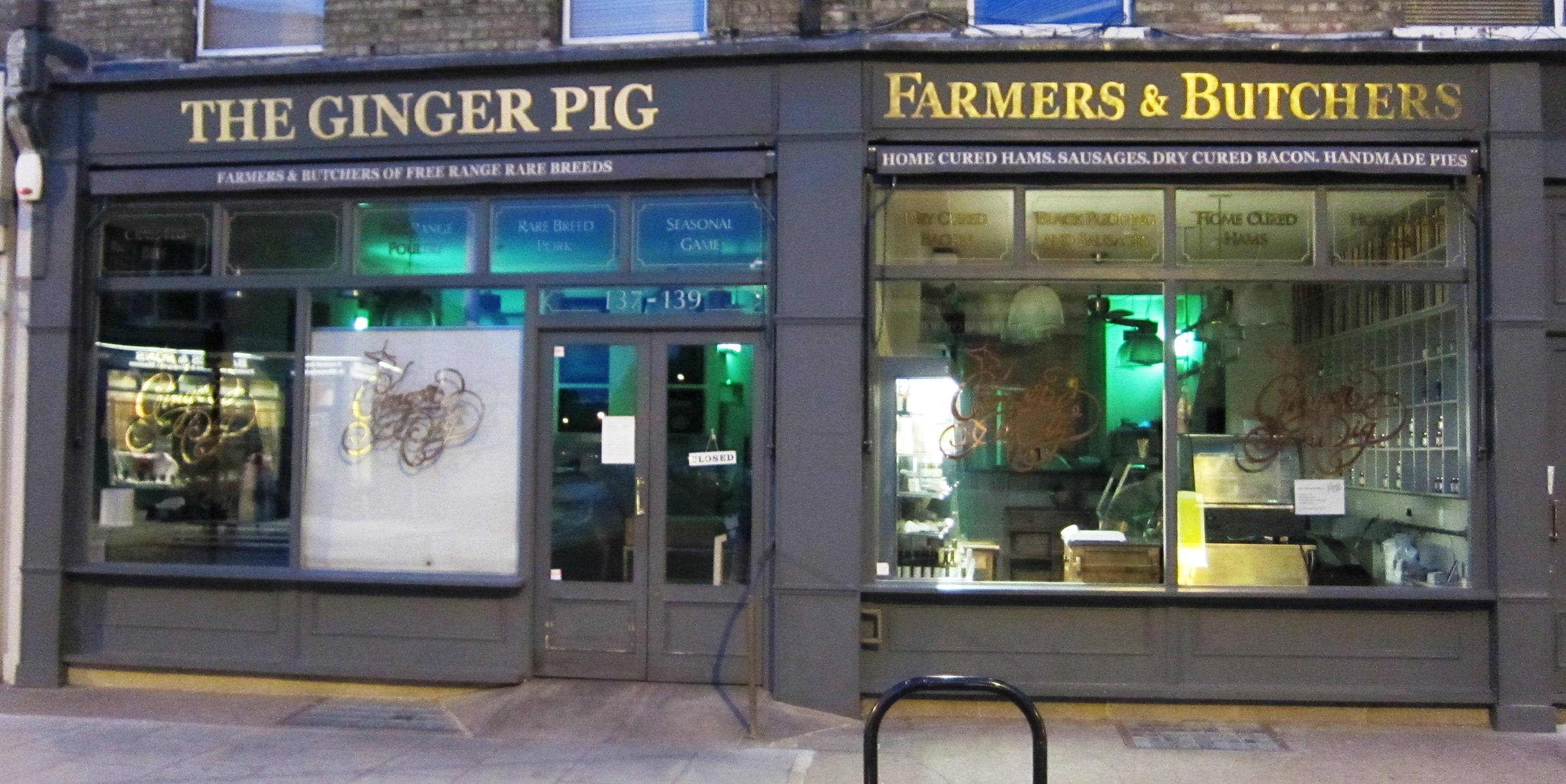 Ginger Pig