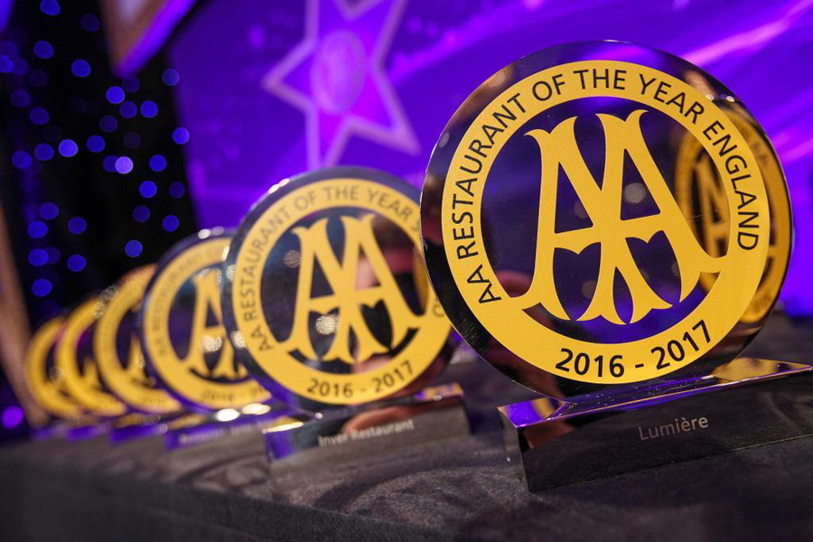 AA Hospitality awards 2016