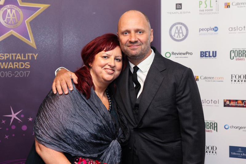 Giovanna Grossi and Simon Rogan