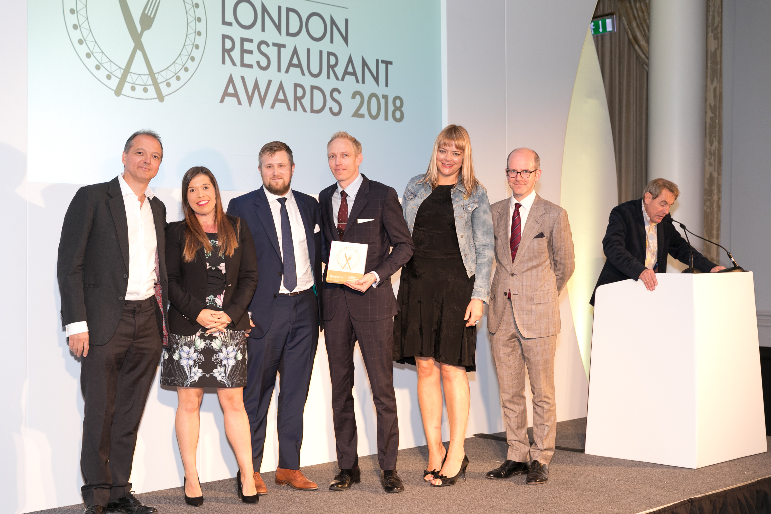 Core by Clare Smyth - Top Gastronomic Experience 2018 at Hardens London Restaurant Awards 2018