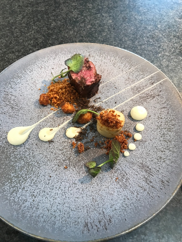 1. Belted Galloway beef, celeriac,truffle by chef Matt Edmonds, chefs to follow on Instagram, food pics, The Staff Canteen