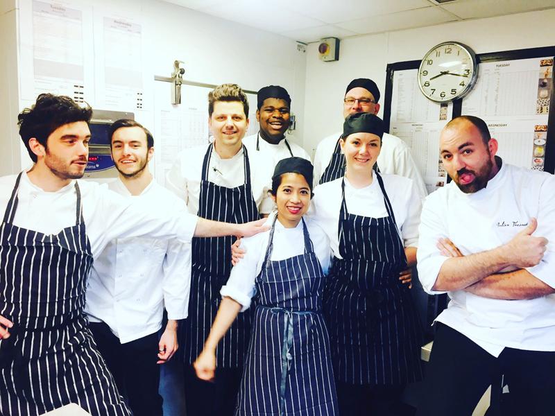 Julien's pastry team