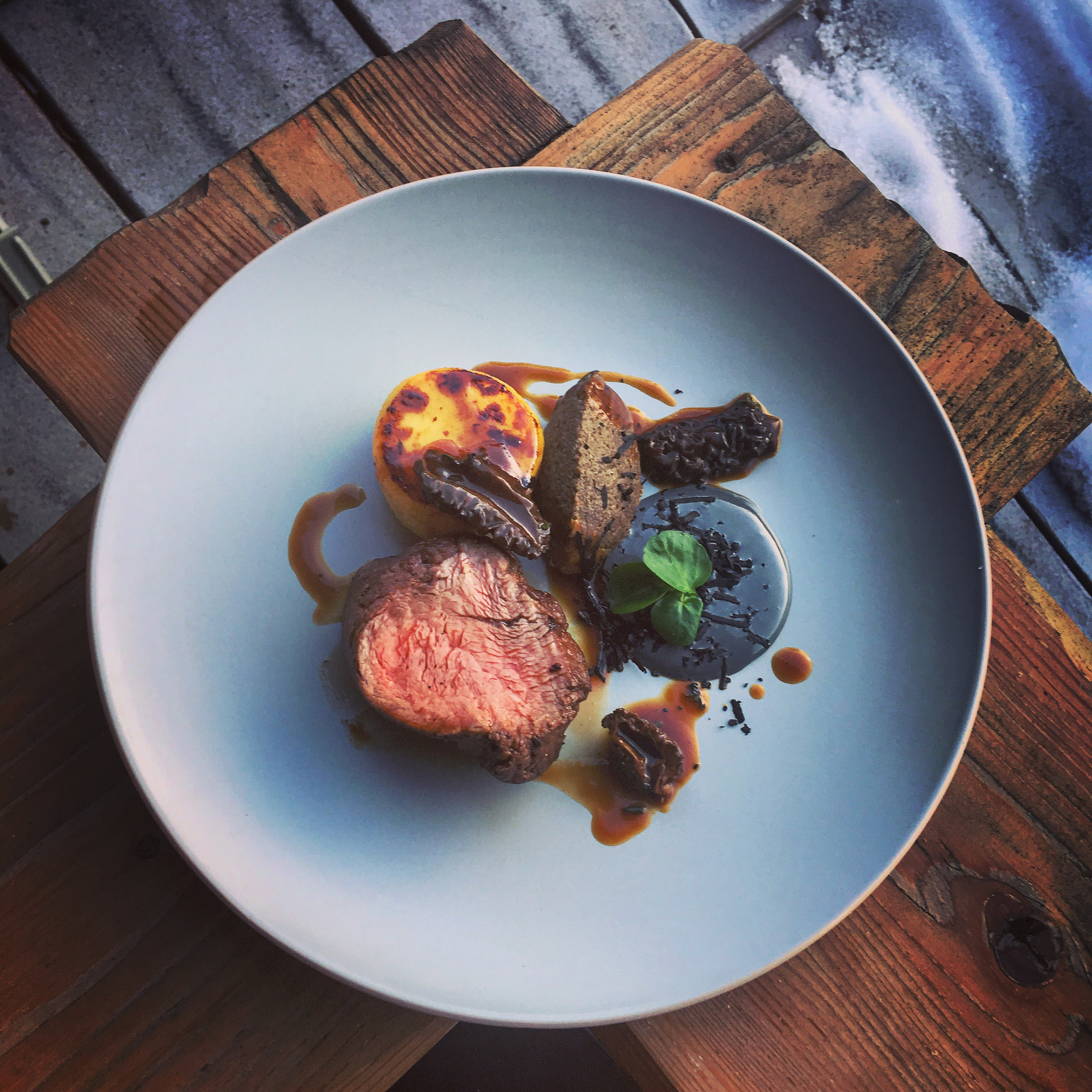 Fillet, truffle, thyme, morel by chef Chris Jeffery, The Staff Canteen, chefs to follow, food pics