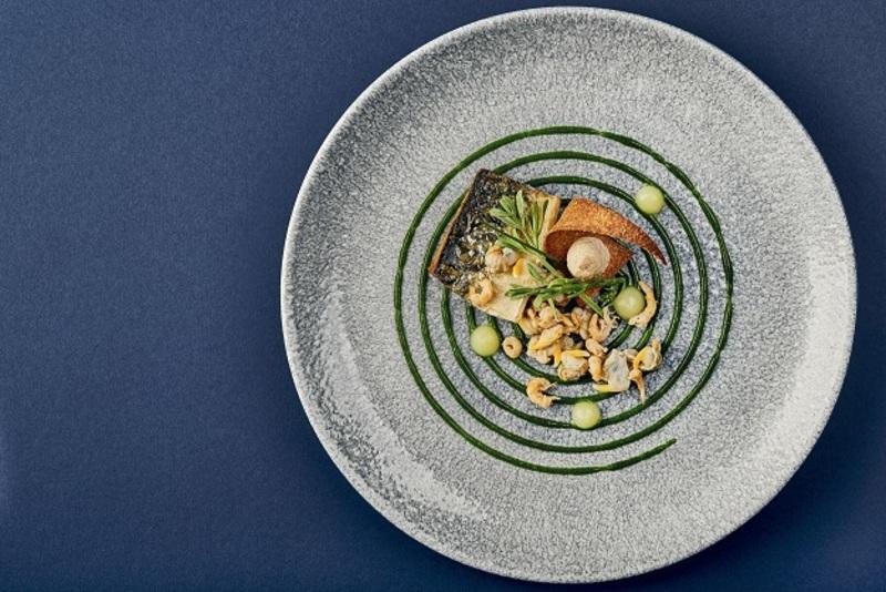Mackerel shrimp and sea herb Craig Sherrington
