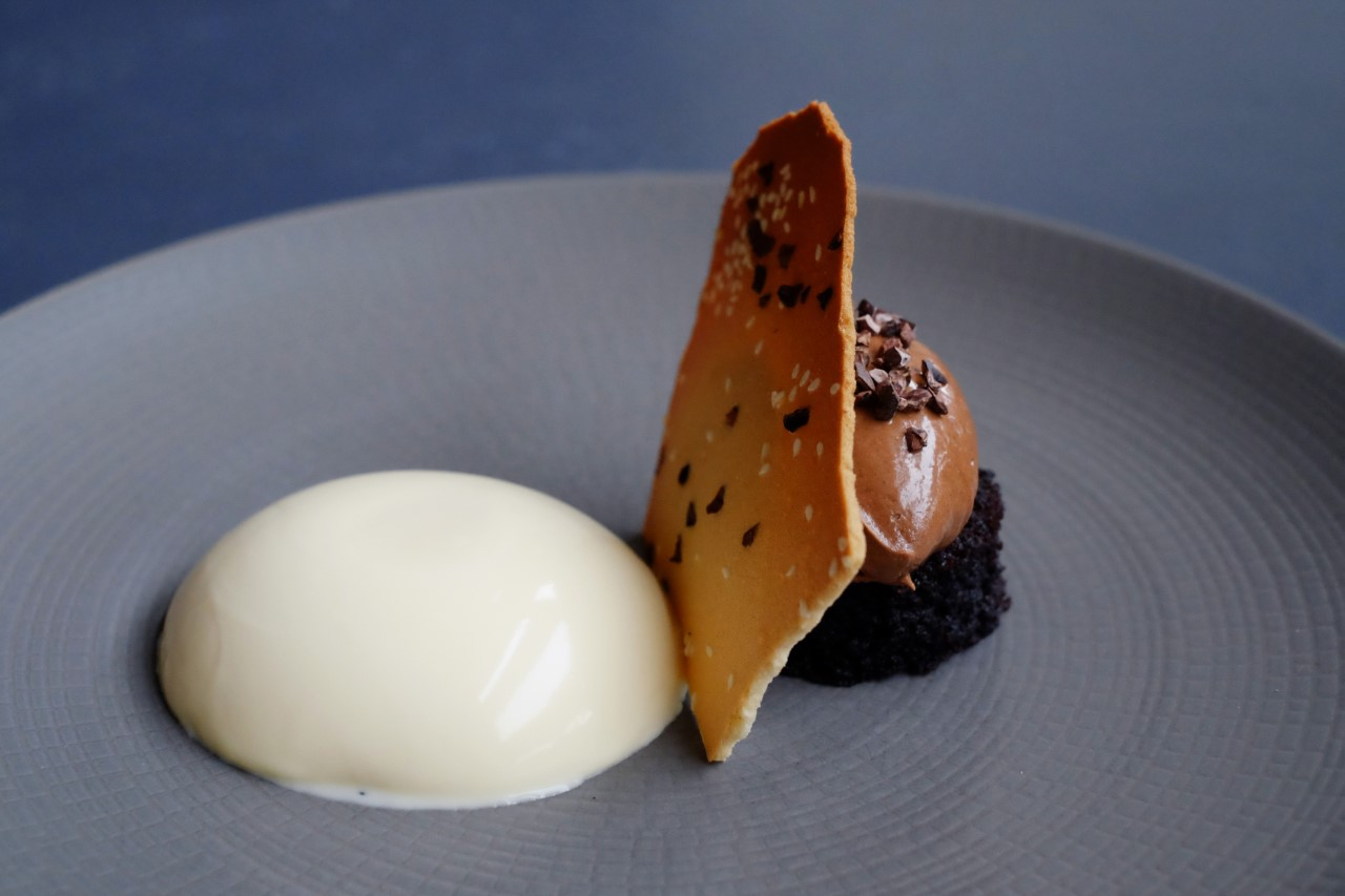 Maple syrup & clotted cream panna cotta