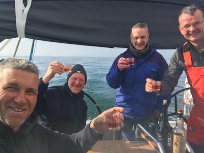 Martin Wishart and crew