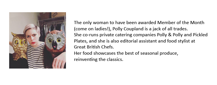Pollyanna Coupland, Pickled Plates & Polly and Polly bio
