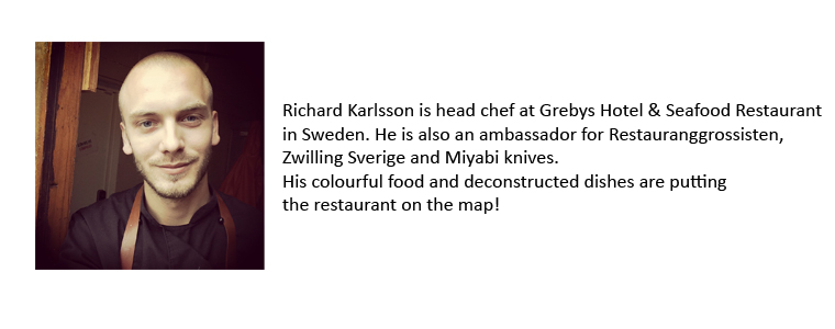 Richard Karlsson,  Grebys Hotel & Seafood Restaurant bio