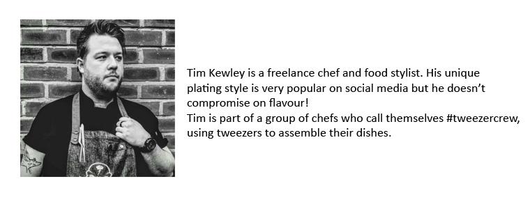 Tim Kewley, freelance chef bio