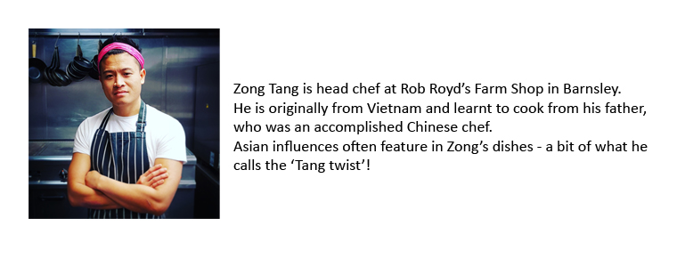 Zong Tang, Rob Royd Farm Shop bio
