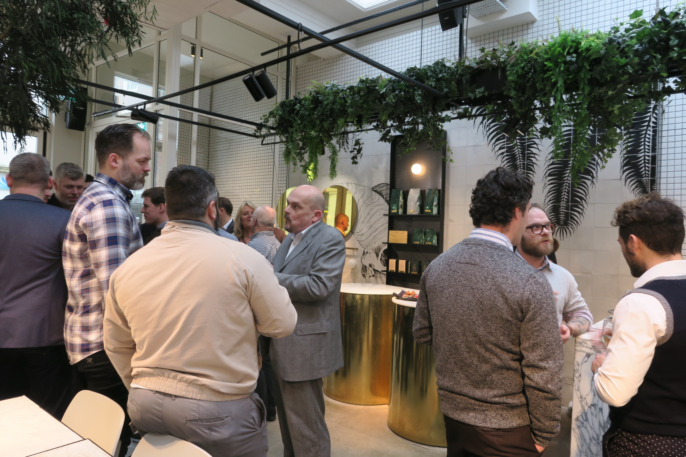 The Staff Canteen Live 2018 networking lunch at Matt Gillan's Pike and Pine, Brighton