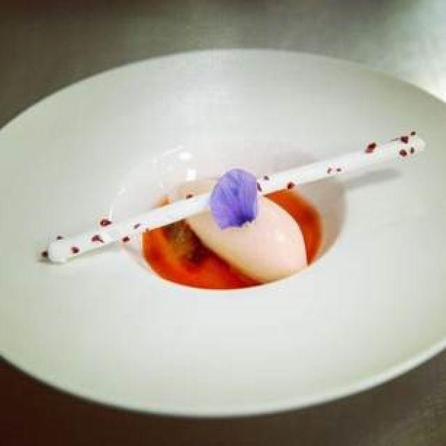Pre grapefruit dessert  by Stephen Espouy, Royal Yacht Britannia