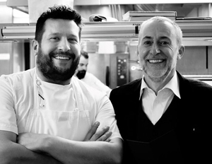 Steve Groves Michel Roux Jr 2019