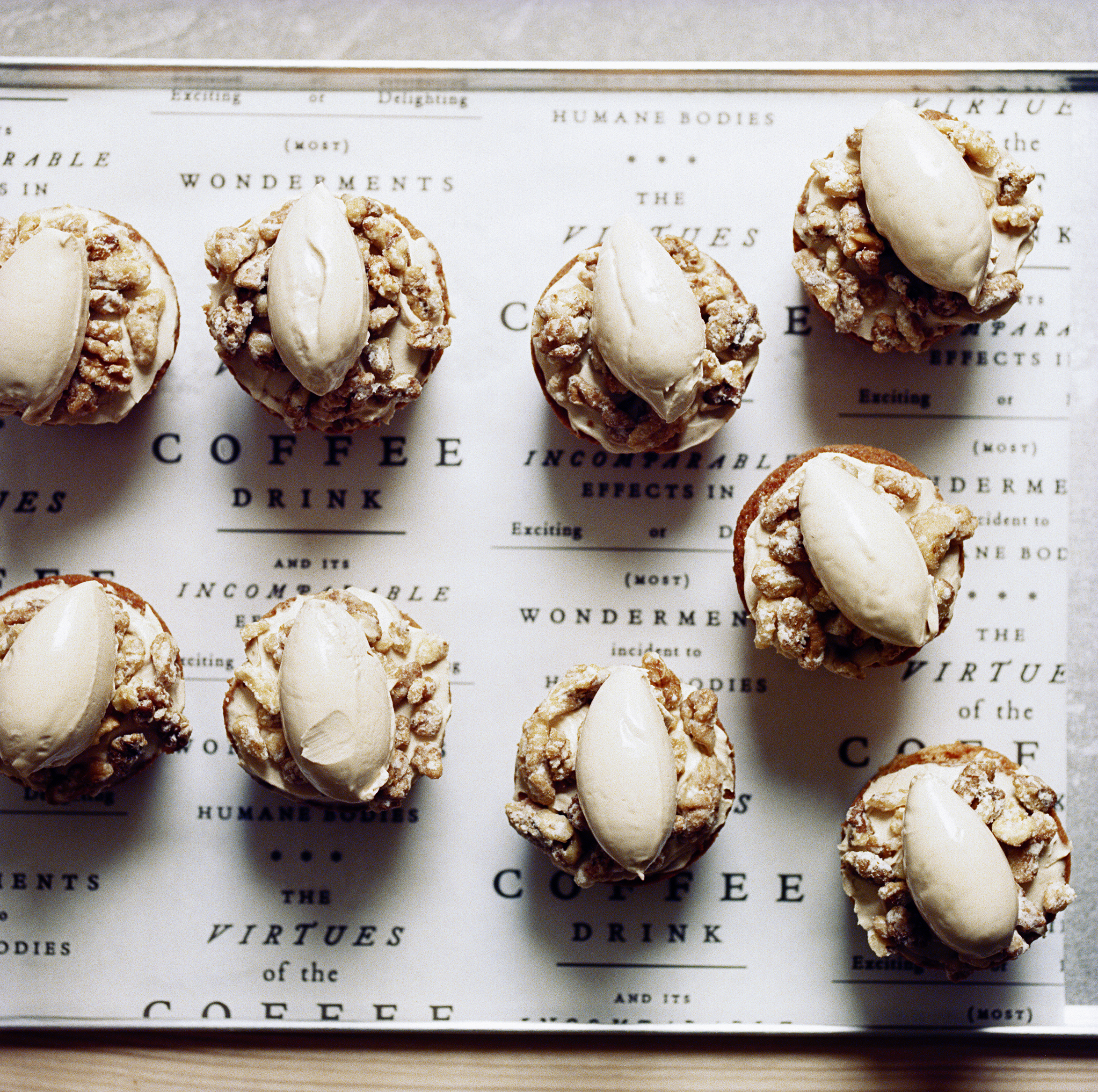 coffee and walnut