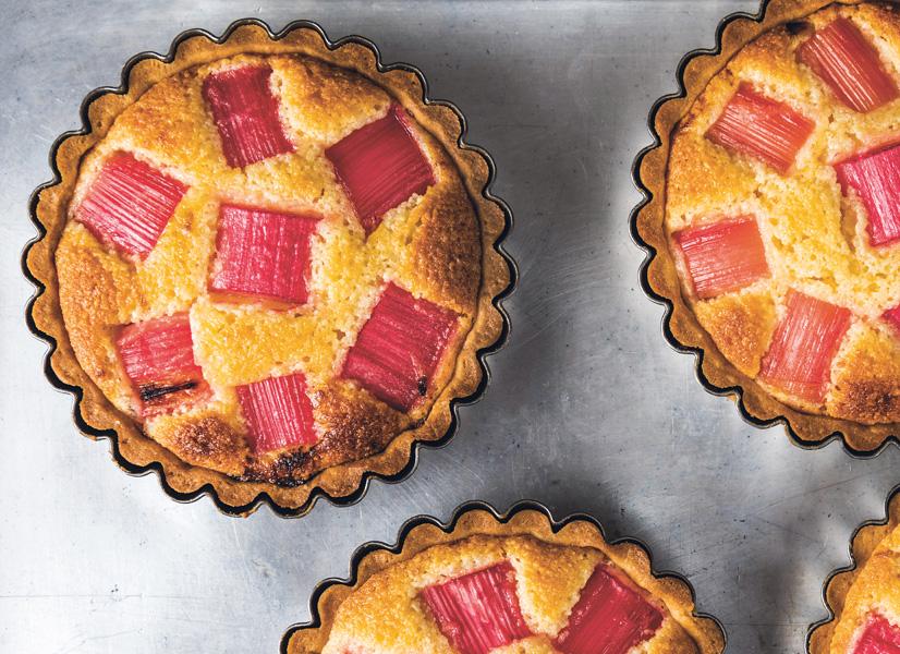 WS Rhubarb and almond tart Jan 1   low res