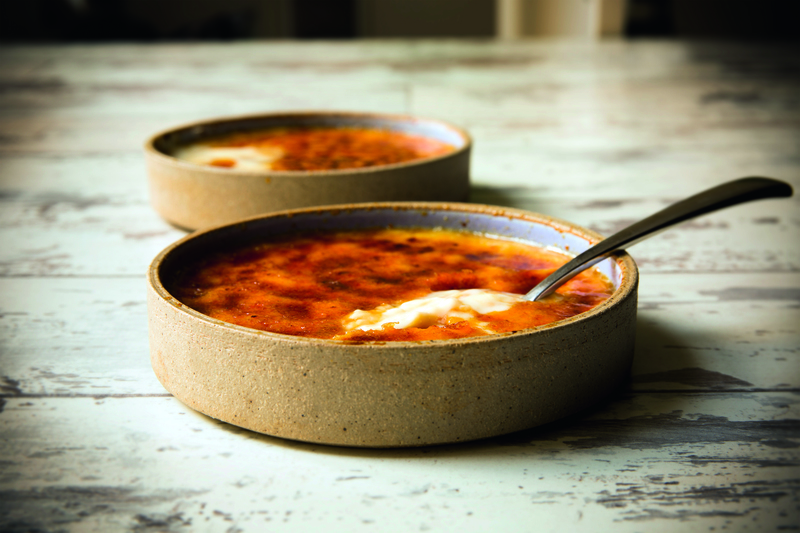 Creme Catalana recipe by Hayden Groves, taken from the cookbook Back in the Saddle, creme brulee, chefs