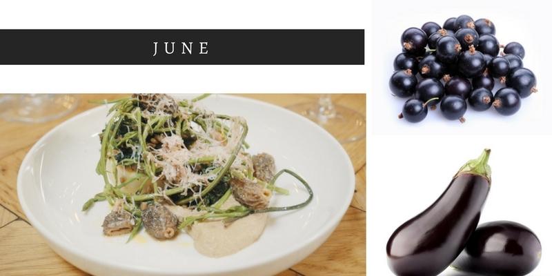 June seasonal food, whats in season in June, seasonal ingredients, Summer foods