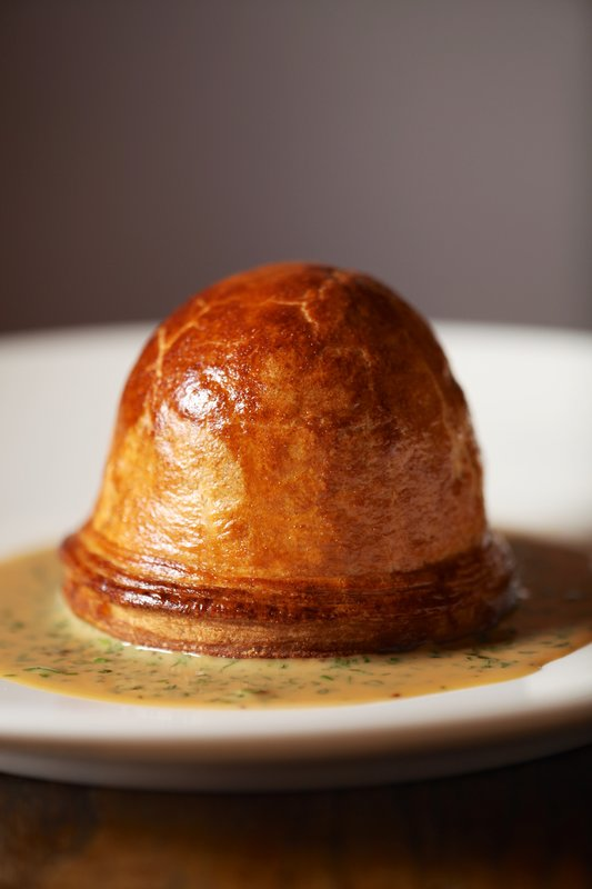 Chicken Ham and Leek pie recipe by chef Peter Gray, Heston Blumenthal's The Hind's Head in Bray