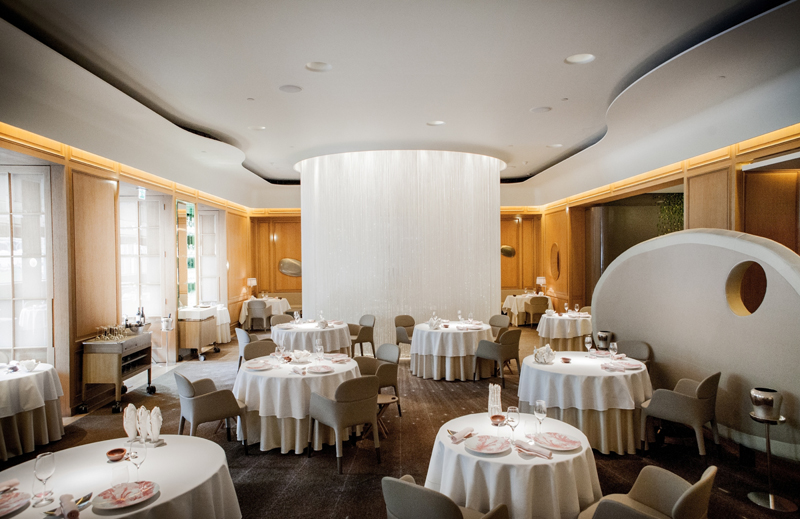 Alain Ducasse at the Dorchester Main Dining Room