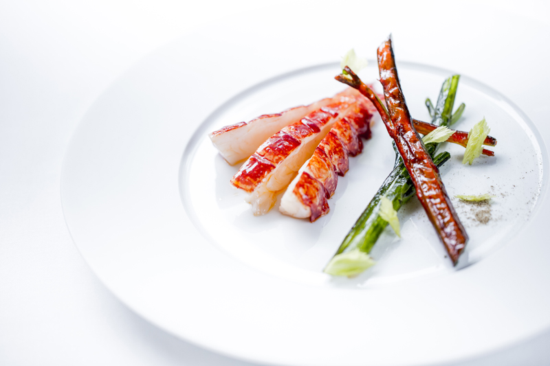 Native lobster, celery & homardine sauce ®pmonetta
