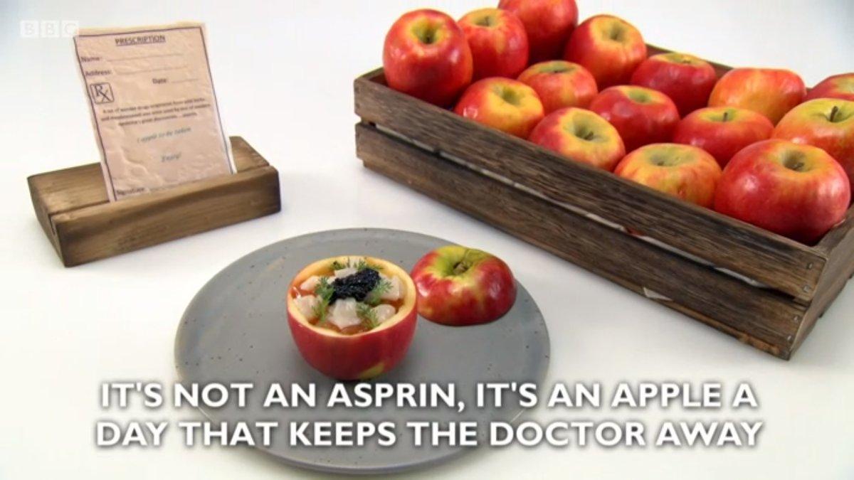 chris apple per day