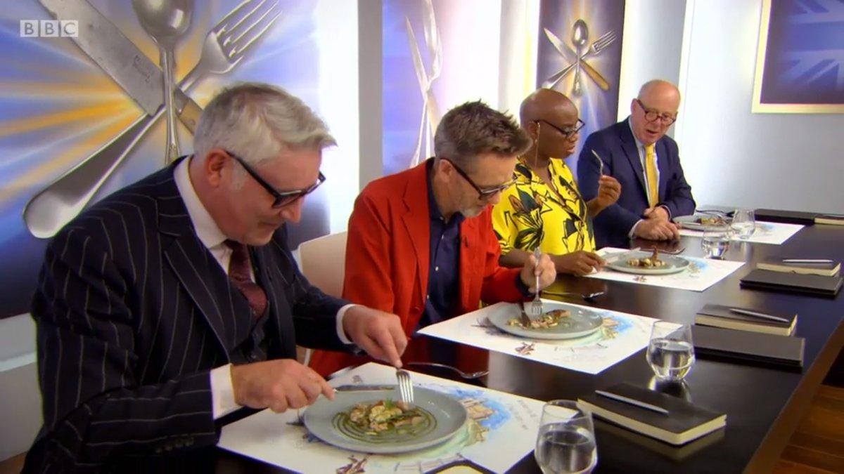 judges eating